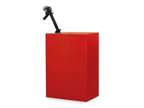Rezervor de peleți cu încărcare automată