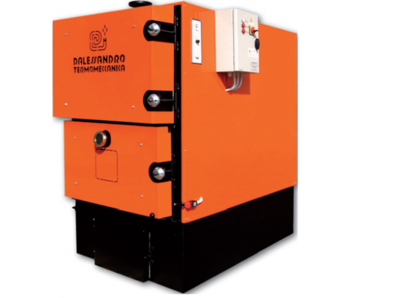 Centrala pe lemne  D'Alessandro Termomeccanica CLS 130-950 Kw